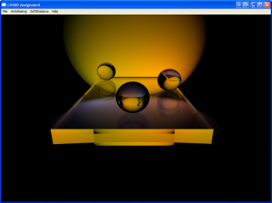 Ray Tracer - Fresnel Test